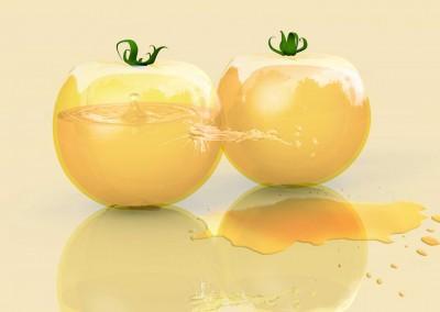 Tomaten in Glas